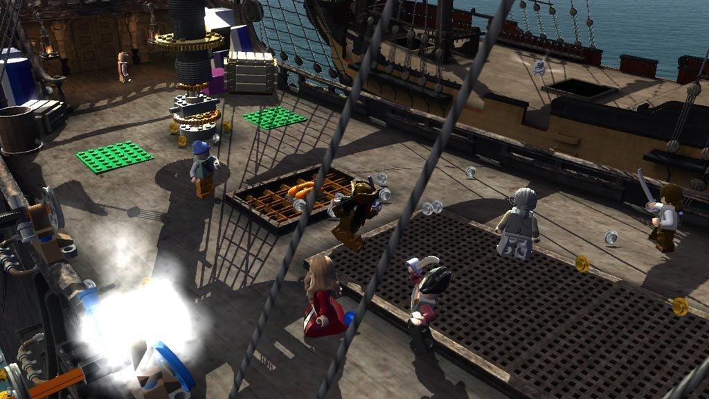 LEGO Pirates of the Caribbean на двоих