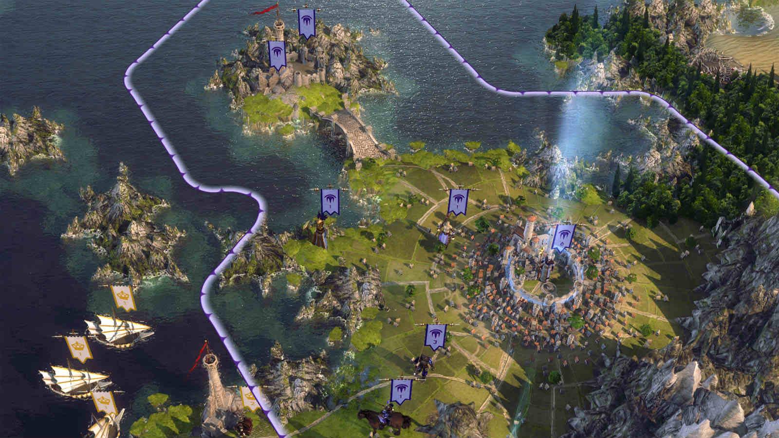 Пошаговая стратегия Age of Wonders 3
