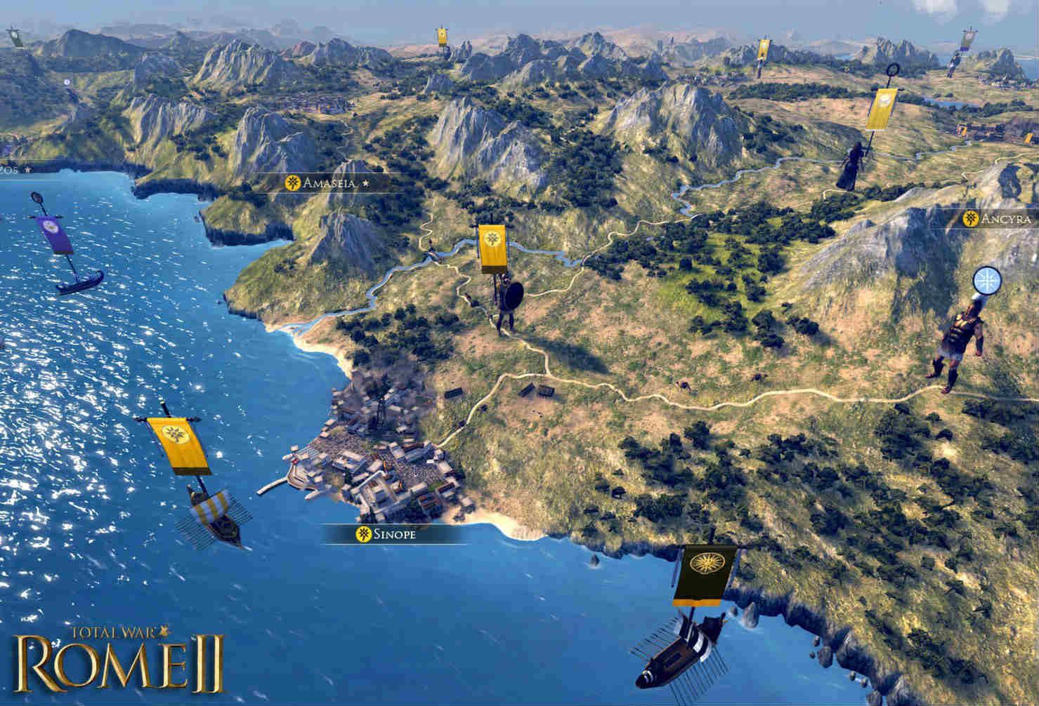 Игра RTS Total War: Rome 2