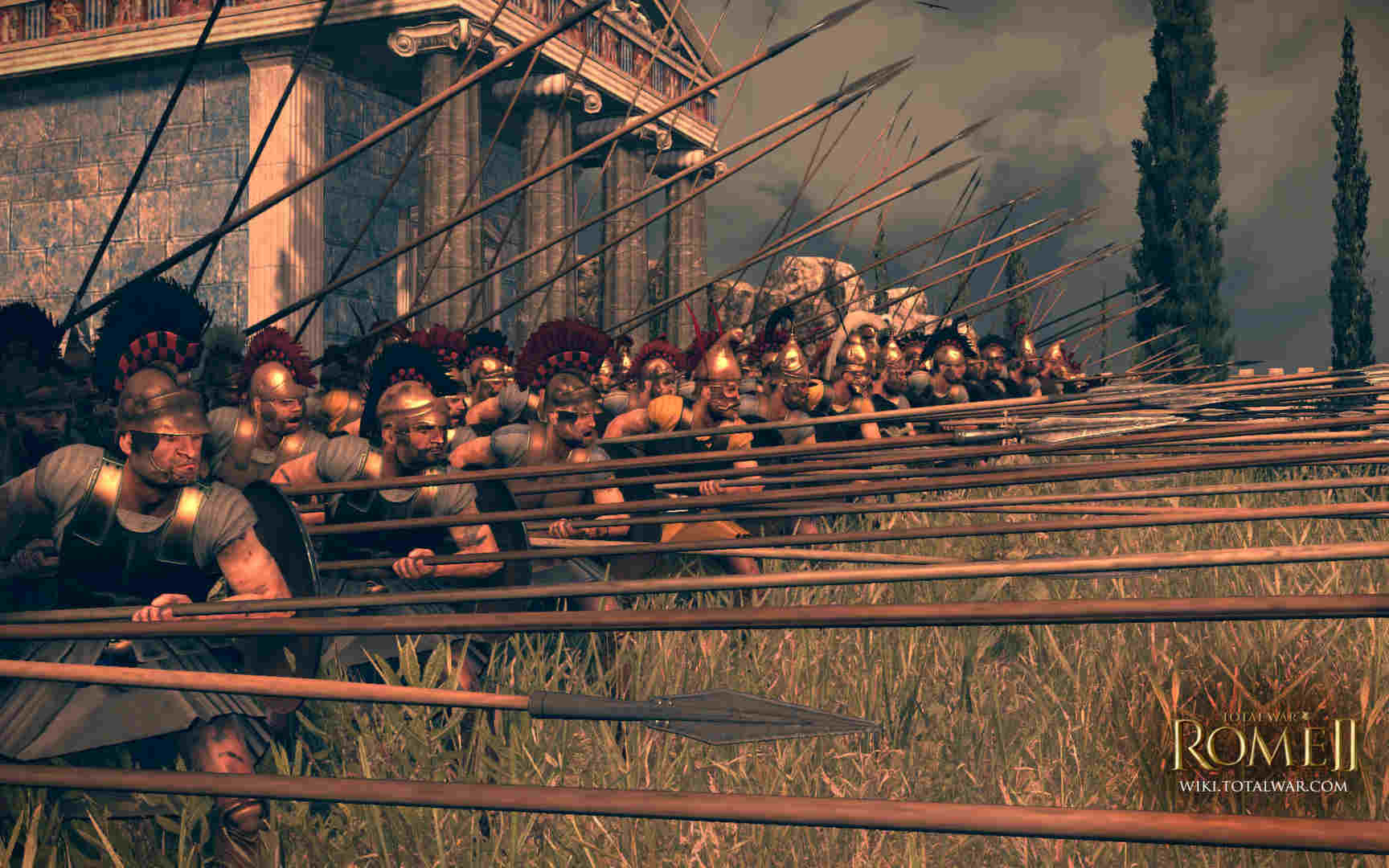 RTS Total War: Rome 2