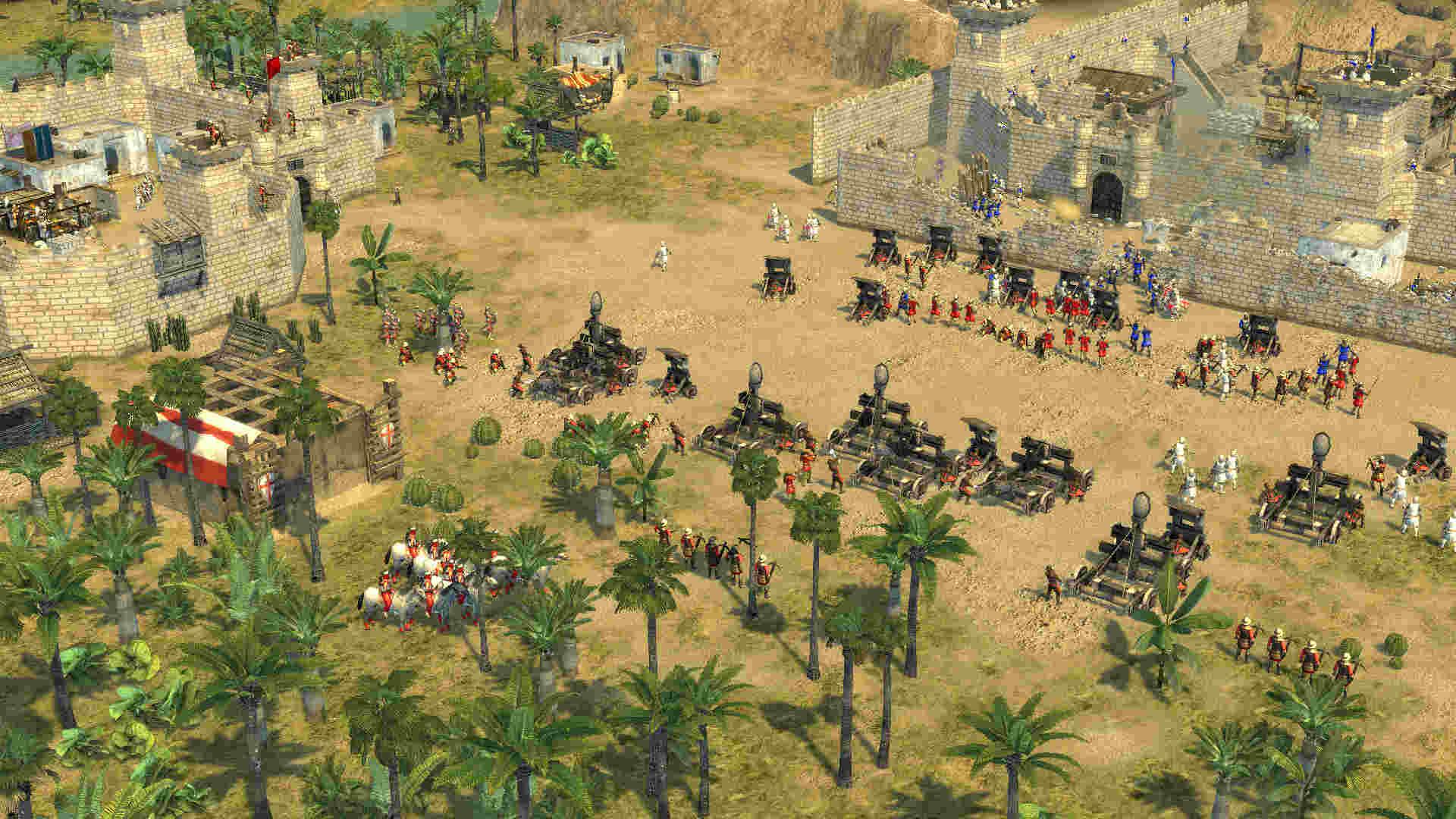 стратегия Stronghold Crusader 2