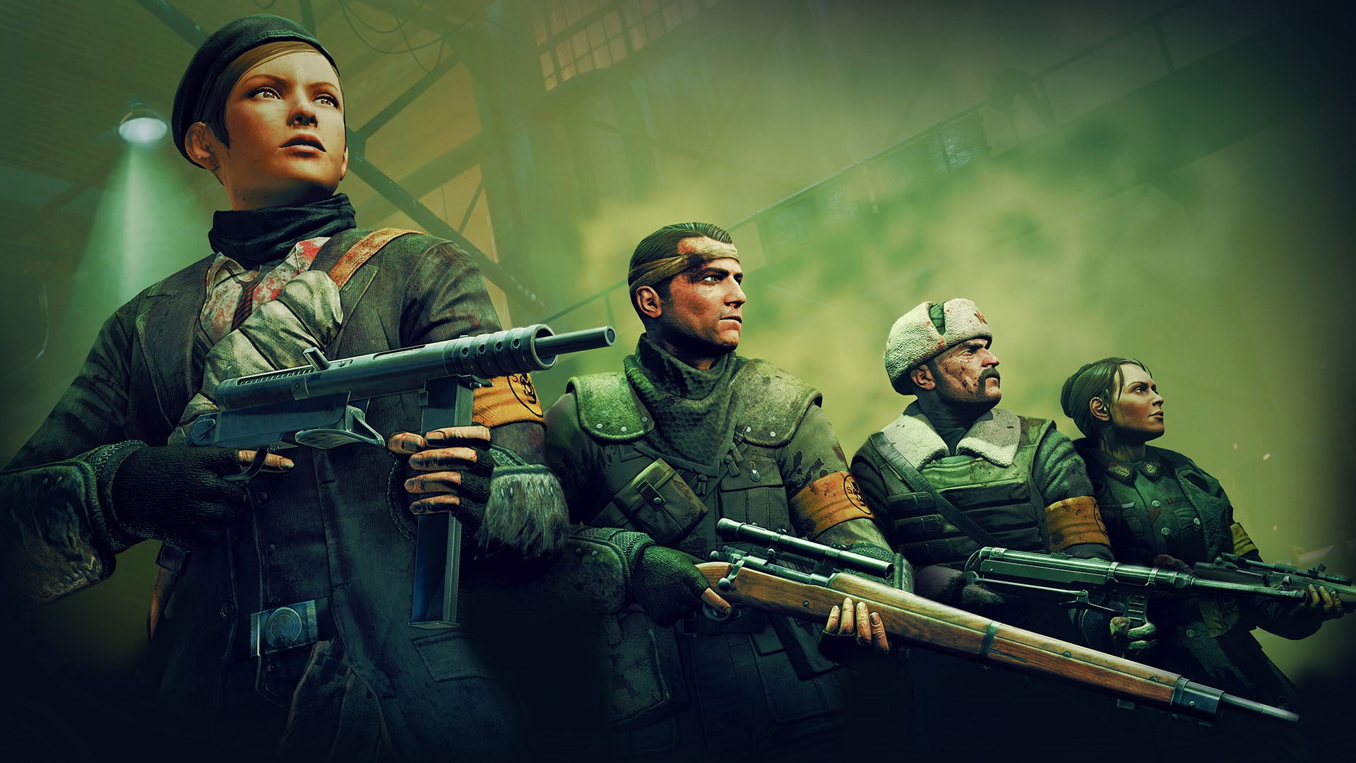 хоррор Zombie Army Trilogy