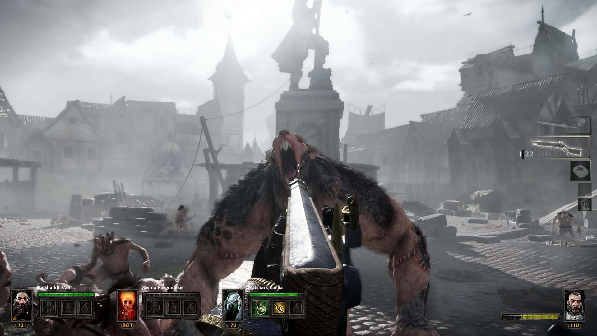 Warhammer: End Times - Vermintide coop