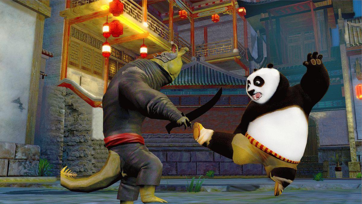 Игра Kung Fu Panda