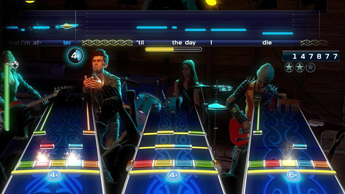 Серия игр Rock Band