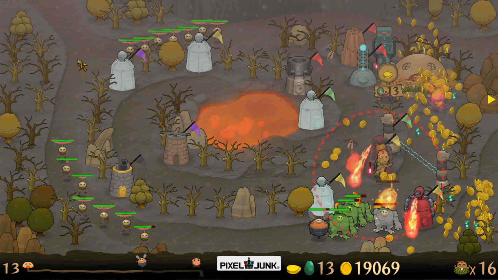 PixelJunk Monsters