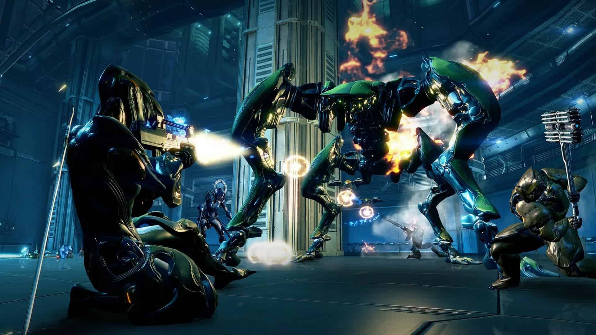 Warframe  free-to-play MMO