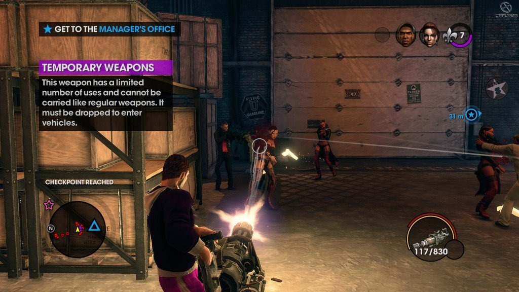 Saints Row: The Third на двоих